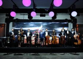 Dj Danilo Bachega e Orquestra Prelúdio na Festa de 30 anos de jornalismo Jefferson de Almeida