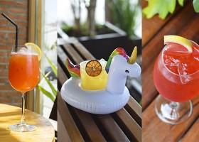 Drinks refrescantes para o verão