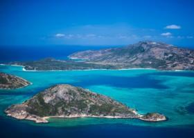Paraíso Australiano é refúgio na Grande Barreira de Corais