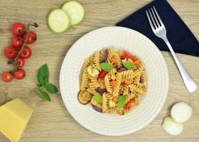 Master of Pasta: aprenda a preparar a receita Fusilli Integralle Barilla com grão de bico e azeitonas pretas