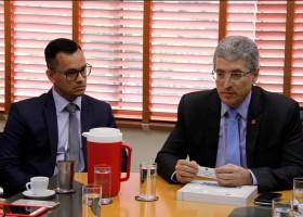 Corregedor nacional do Ministério Público visita Campo Grande