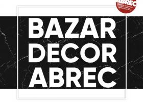 ABREC realiza bazar com artigos de decoração