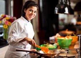 A chef Luiza Trajano traz receitas bem brasileiras para o Cozinhando para o Jeff