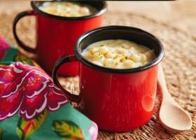 Aqueça-se do frio com uma saborosa receita de Canjica de Milho