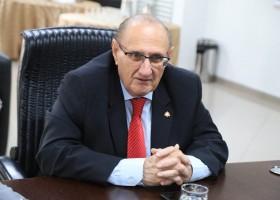 Presidente do TJMS, Desembargador Paschoal Carmello Leandro substituirá o Governador durante visita a Assunção
